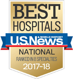 The University of Kansas Health System ranked in 8 specialties on U.S. News & World Report's Best Hospitals list for 2017-18